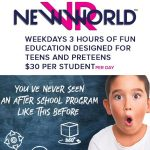 New World VR is now enrolling for afterschool camp!