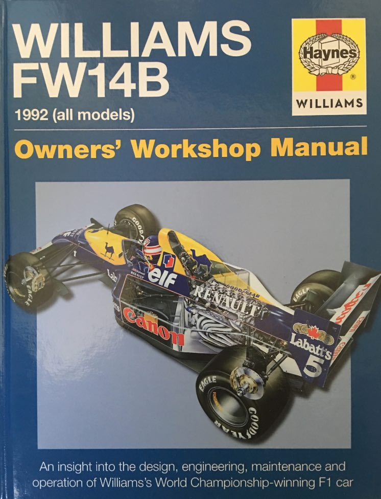 Williams FW14B Haynes Manual