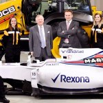 Williams and JCB Announce New Partnership