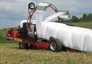 bale equipment, bale trailers, bale wrapping