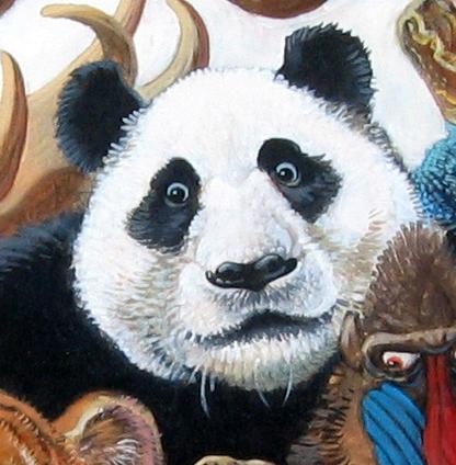Menagerie – Panda Detail