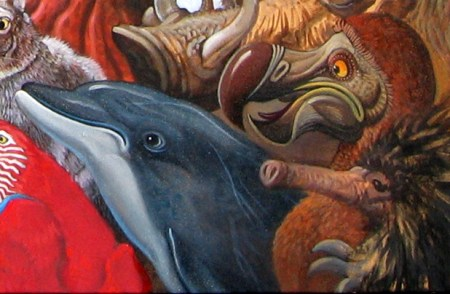 Menagerie – Dolphin & Dodo Detail