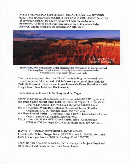 The Stout Family Utah Trip « William Stout's Journal