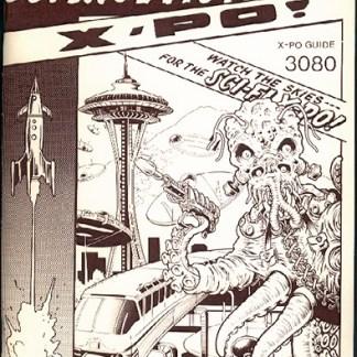 1980 Science Fiction X-PO Program Book