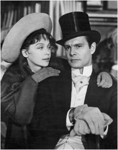 Louis Jourdan with Gigi