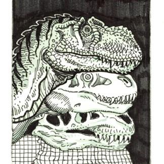 Jurassic Park Ad Rough #10