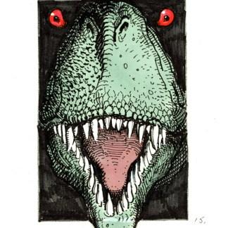 Jurassic Park Ad Rough #15