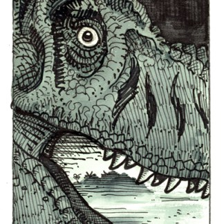 Jurassic Park Ad Rough 7