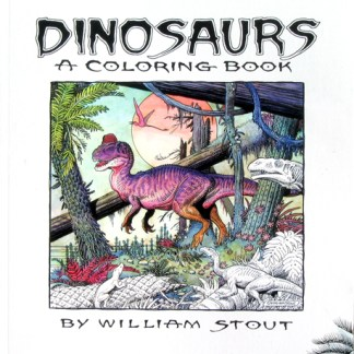 DINOSAURS - A Coloring Book