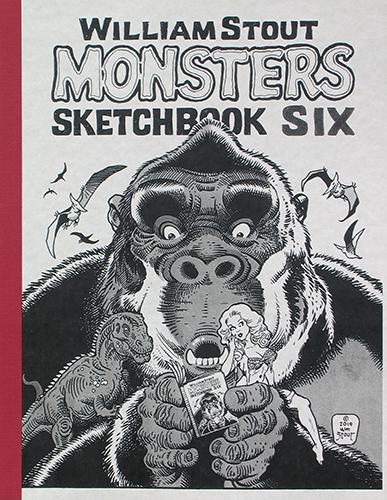 Monsters Sketchbook Volume 6