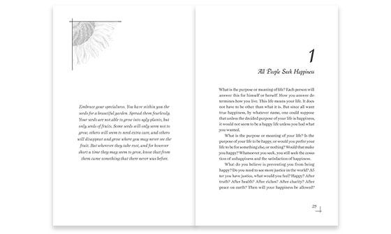 The Book Interior Design Portfolio Of Williams Writing