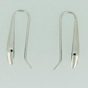 Aquamarine drop earrings