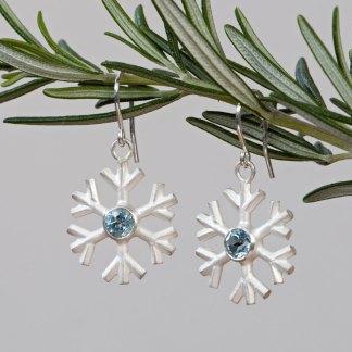 blue-topaz-snowflake-earrings