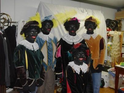 Zwarte piet kostuum