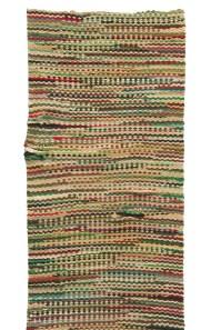 Lot 32: Shaker Rag Rug