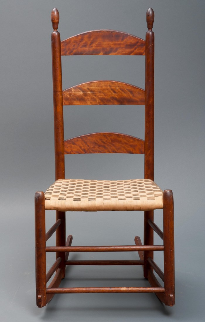 Lot 34: Rocking Chair