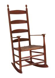 Lot 107: Elder's Rocking Chair