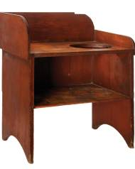 Lot 115: Shaker Wash Stand