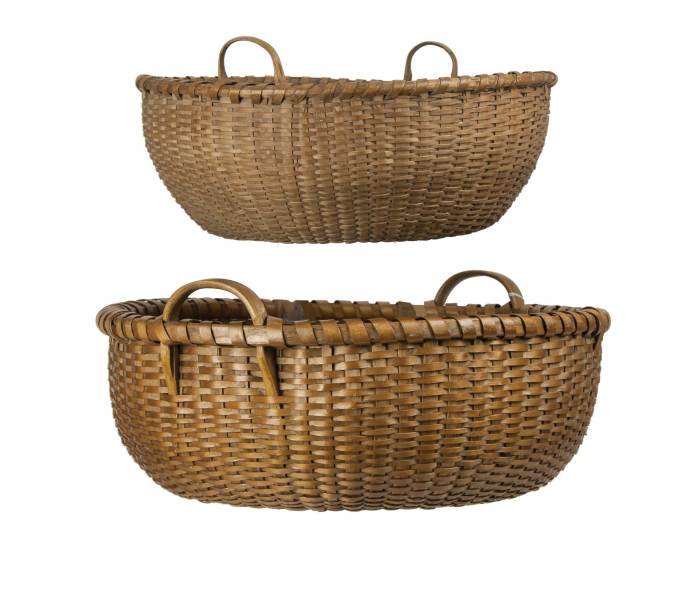 Lot 119: Two Baskets
