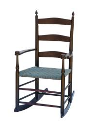 Lot 136: Child's Rocking Chair