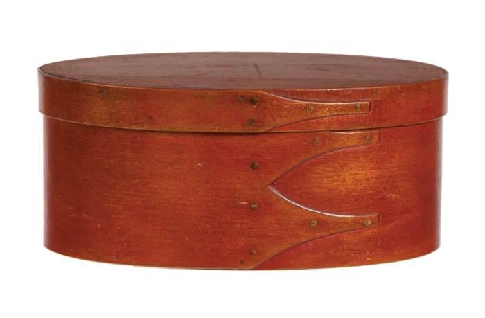 Lot 20: Oval Box