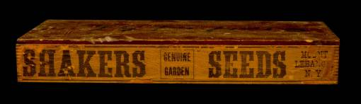 Lot 32: Seed Box and Stencil Plate