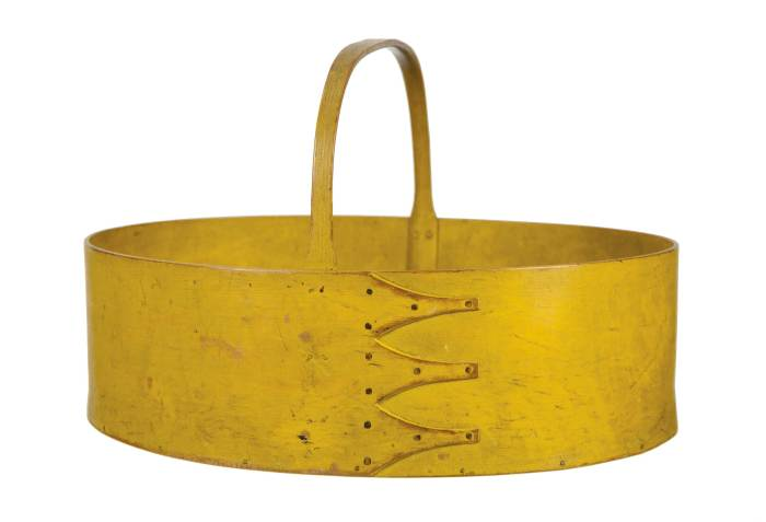 Lot 41: Rare Large Oval Carrier
