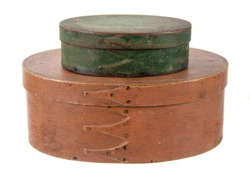 Lot 44: Two Oval Boxes