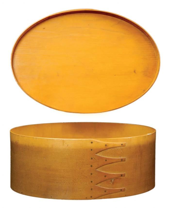 Lot 47: Large Oval Box