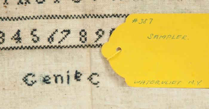 Lot 57: Sampler