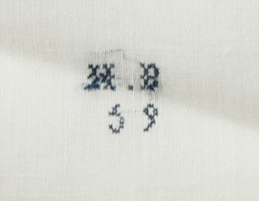 Lot 58: Marking Thread and Brother's Handkerchief