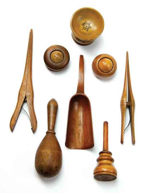 Lot 66: Collection of Small Woodenware