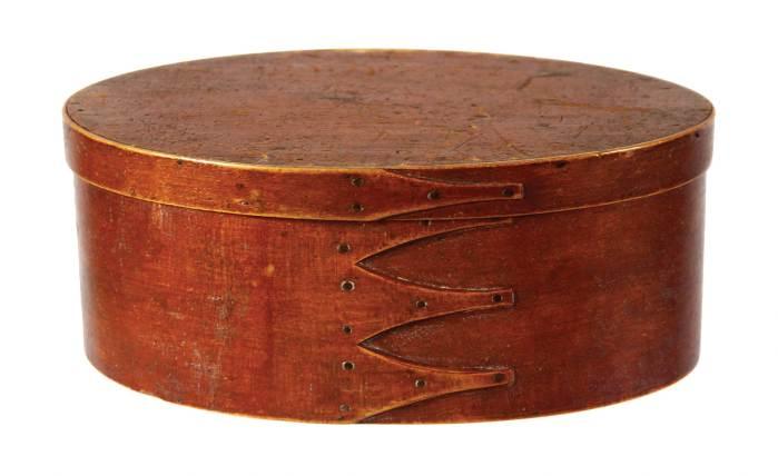Lot 69: Oval Box
