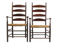 Lot 92: Two Armchairs