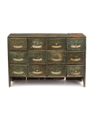 Lot 100: Early Apothecary Chest