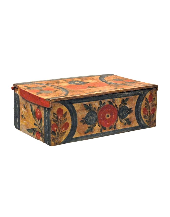 Lot 118A: Two 19th C. Scandinavian Boxes