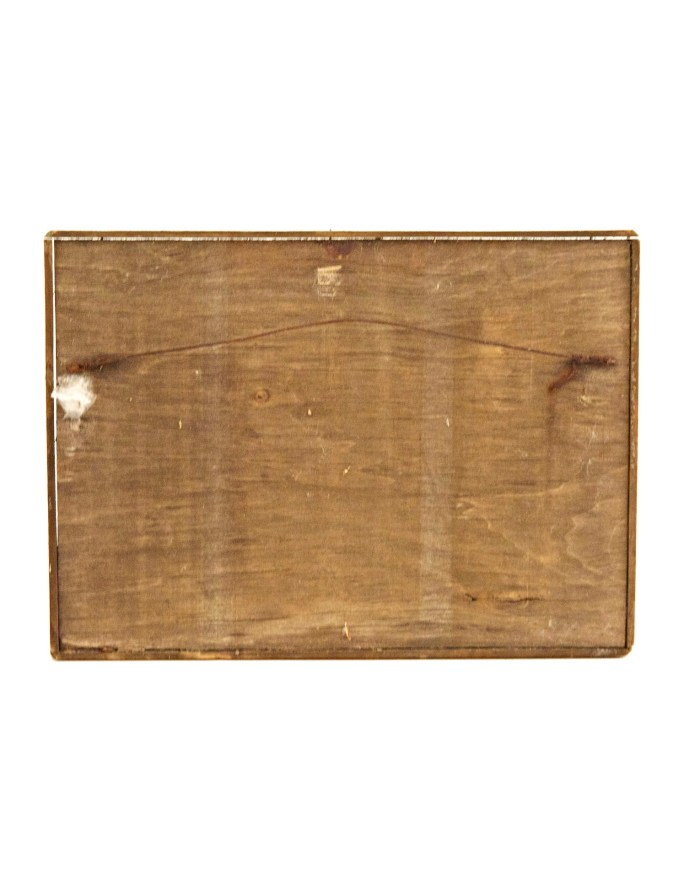 Lot 121: Folk Art Wooden Flag