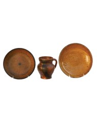 Lot 127: Pie Plates and Pitcher