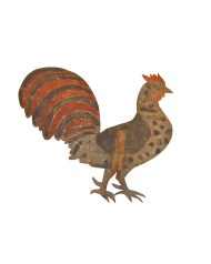 Lot 142: Rooster Weathervane