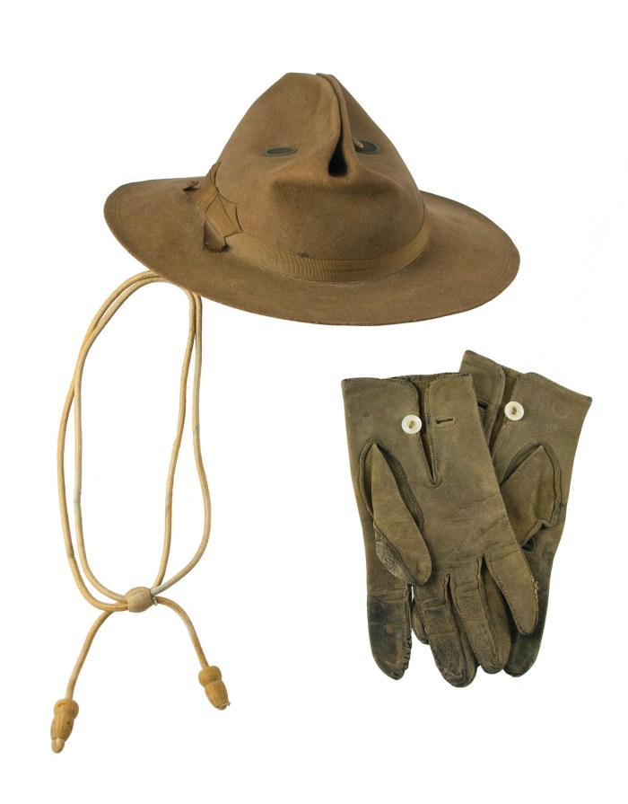 Lot 144A: Spanish American War Campaign Hat