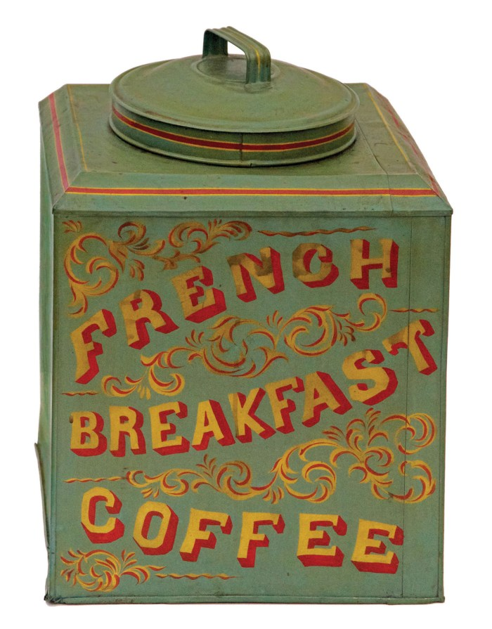 Lot 158: 19th C. Country Store Tin