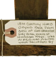 Lot 218: 18th C. Herb Drying Rack