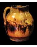 Lot 23A: Early 18th C. New England Redware Pitcher