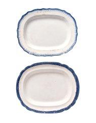 Lot 41: 19th C. Platters