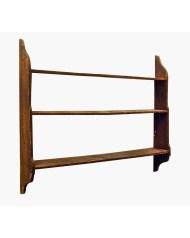 Lot 70: 19th C. Hanging Shelf