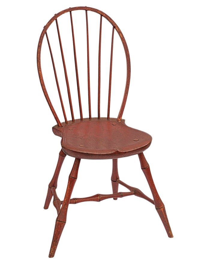 Lot 93: Late 18th/Early 19th C. Windsor Side Chair