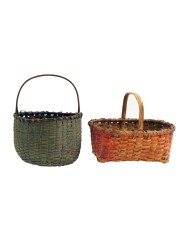 Lot 94: Two Baskets