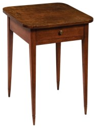 Lot 101: Early 19th c. One-Drawer Stand