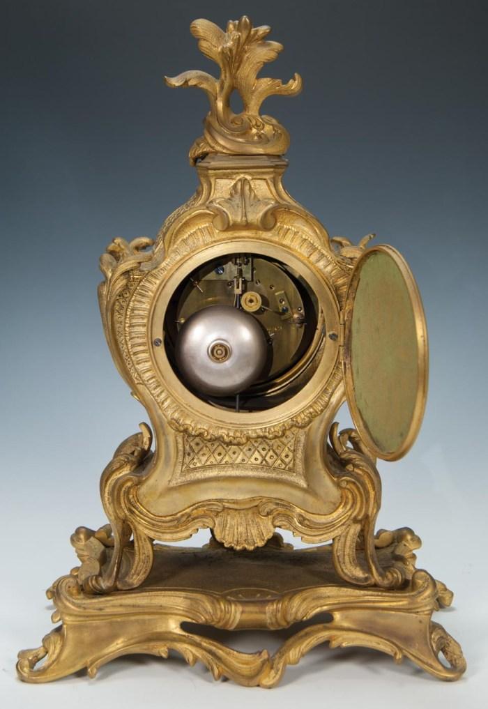 "Lot 112: Mantle Clock ""Tiffany"""