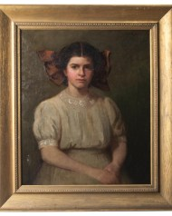 Lot 132: Portrait of Young Girl
